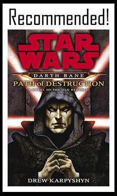 Star Wars Darth Bane Path Of Destruction Book