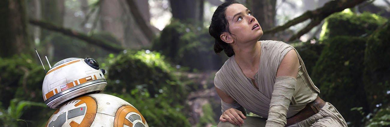 Star Wars Episode VII Rey and BB8